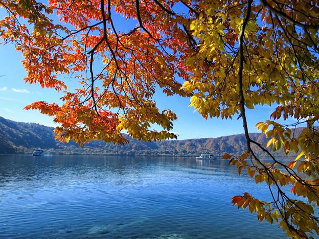 秋の十和田湖