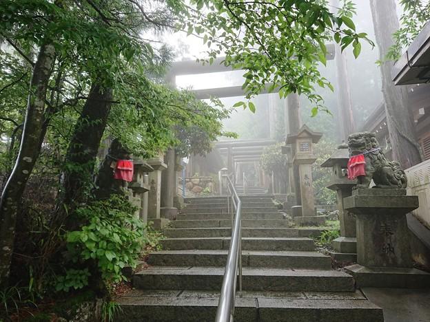 立里荒神社石段
