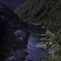 亀山公園からの保津川