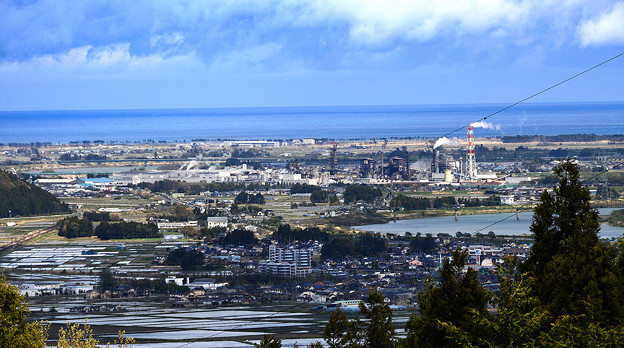 海・田園・工場・街の風景