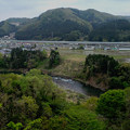 名取川と仙台南道路