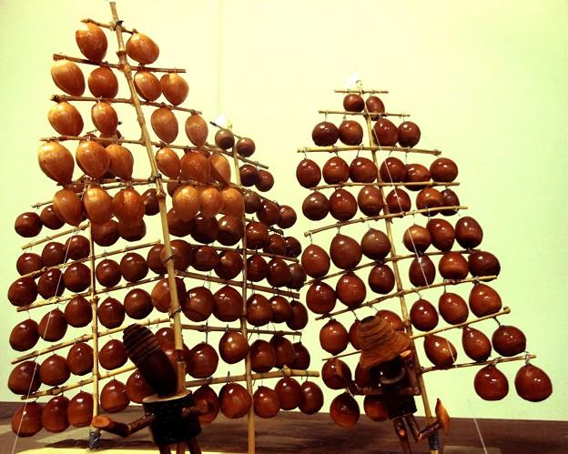 木の実の竿燈