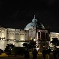 写真: 夜の博物館