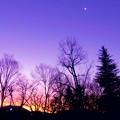 写真: 黎明