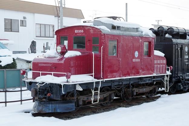弘南鉄道ED333~編成