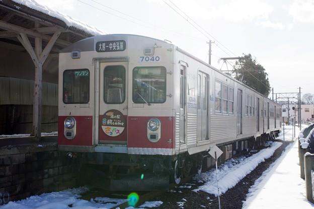 弘南鉄道7000系電車 デハ7040~編成