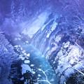 写真: 藍い夜