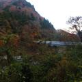 小松原橋を渡り