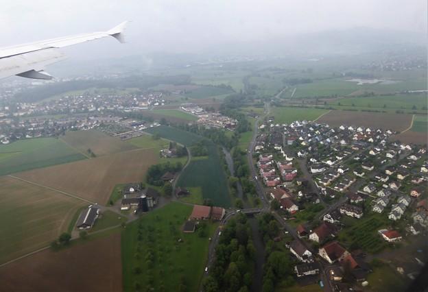 5月16日9:35チュリッヒ空港へ