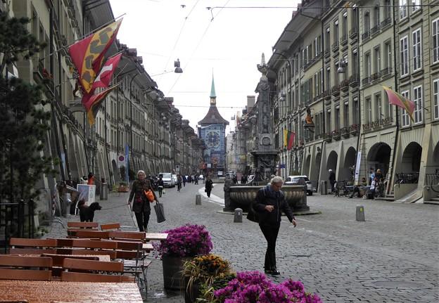 首都ベルン市街