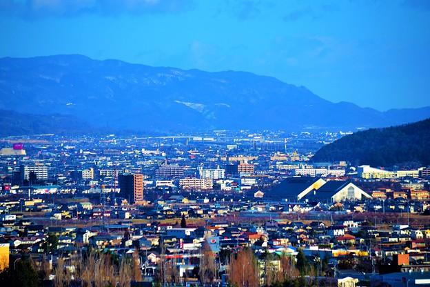 福島市内です