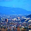 写真: 福島市内です