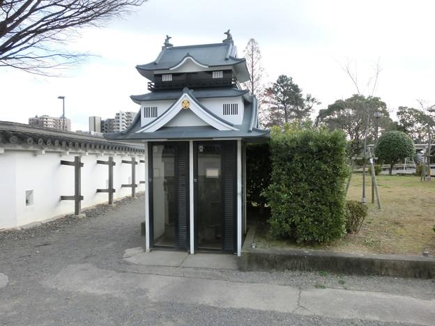 お城の公衆電話
