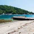 小舟ヶ浜の桟橋