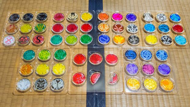 CSMオーズドライバー オーメダル全59種