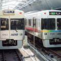 Photos: 吉祥寺駅に停車中の京王1000系電車