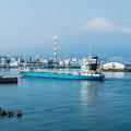 Photos: 田子の浦港に停泊する船