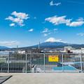Photos: 吉原駅の津波避難タワーから眺める景色