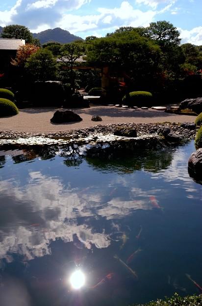 写真: 足立美術館 庭園風景