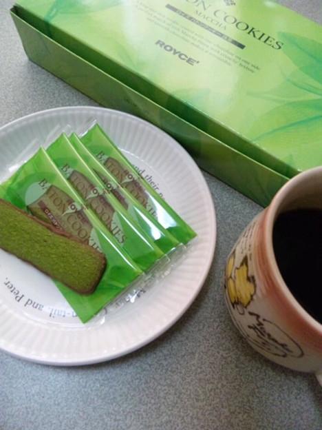 ROYCE'バトンクッキー[抹茶]