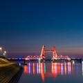 昇開橋 夕景 3
