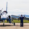 芦屋基地航空祭 ブルーインパルス