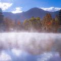 湯布院 金鱗湖 紅葉 3