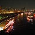 写真: 隅田川 夜の水上バス