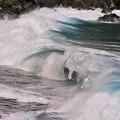 写真: 波の音