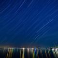 写真: 空の色、海の色