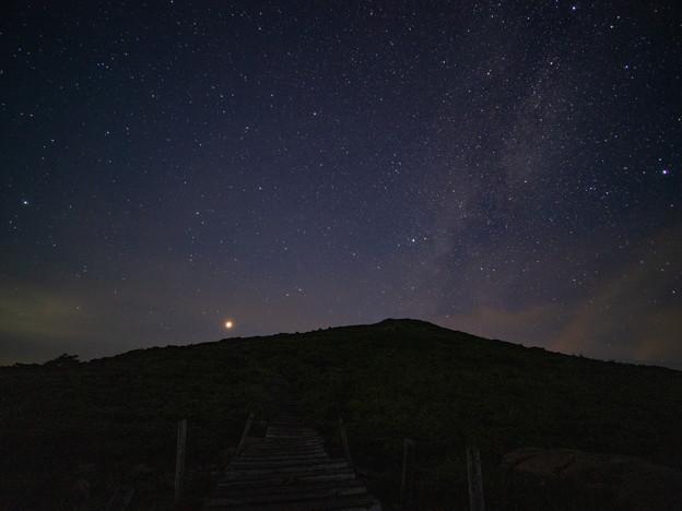 ひとり、夜の至仏山へ