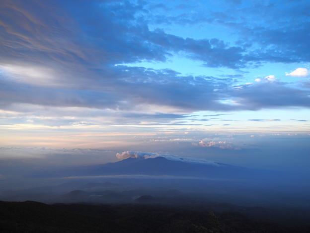 山の朝は優しい