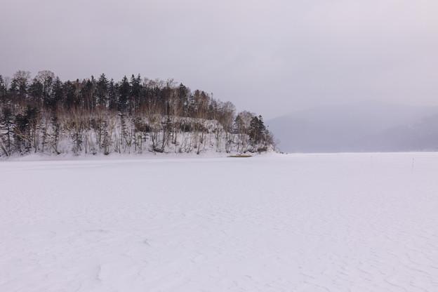北海道然別湖