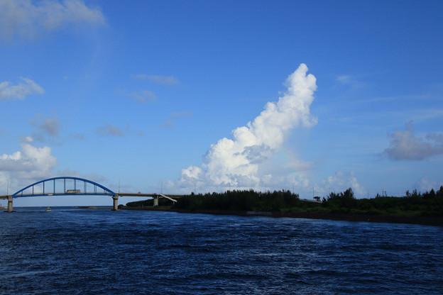 あやぱに(八重山観光フェリー)乗船中(竹富島→石垣島)(2019/07/31)