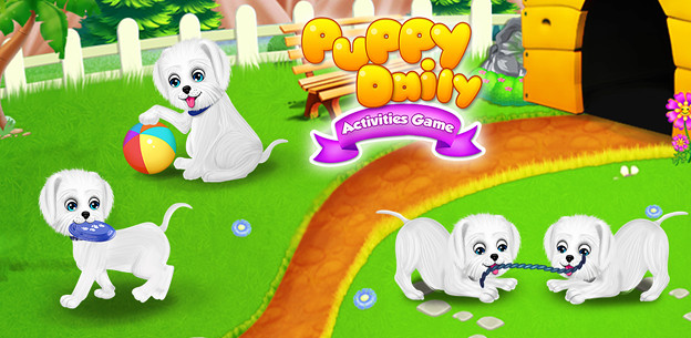 Puppy Daily Activities Game - Pet Daycare