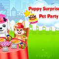 Puppy Surprise Tea Party - Pet Party Game