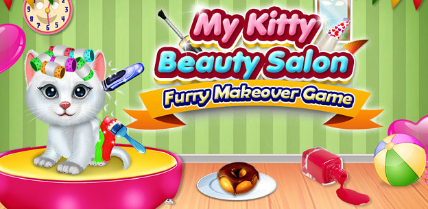 My Kitty Beauty Salon Furry Makeover Game