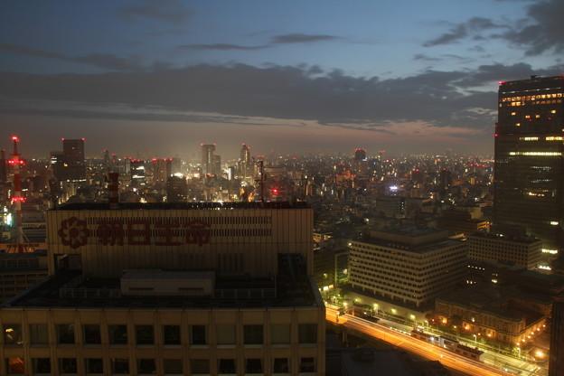 窓からの景色(5月1日から5月2日のインターバル撮影)4 5月2日
