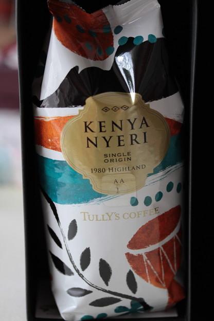TULLY'S KENYA NYERI SINGLE ORIGIN 1980 HIGHLAND AA 袋