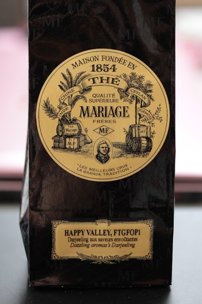 写真: MARIAGE FRERES DARJEELING HAPPY VALLEY 袋