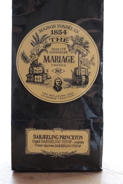 写真: MARIAGE FRERES DARJEELING PRINCETON 袋