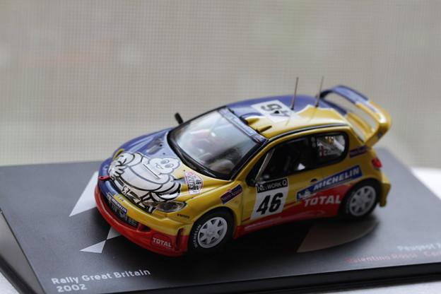 Peugeot 206 WRC 2002(プジョー 206 WRC 2002)1