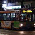 写真: 帰るバス