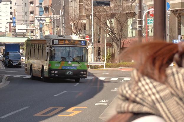 2018年春の『バス待ち風景』