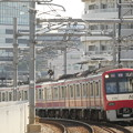 Photos: 押上からカーブある勾配を上がる電車