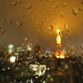雨粒模様…2019.6.10夜