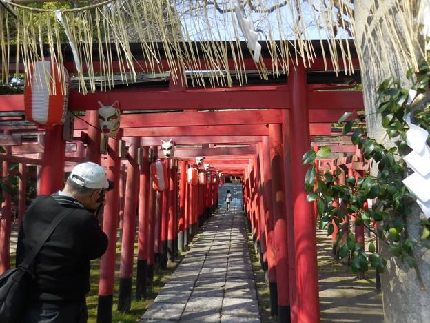 写真: 美濃輪稲荷神社