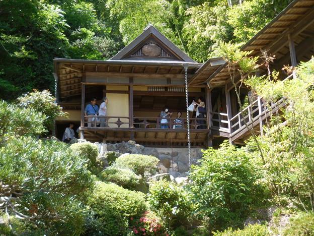 山の上の茶室