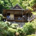 写真: 山の上の茶室