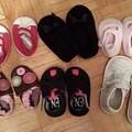 写真: Infant用の靴。全て新品。$20